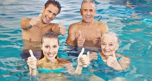 Online Aqua Fitness by Distance Education