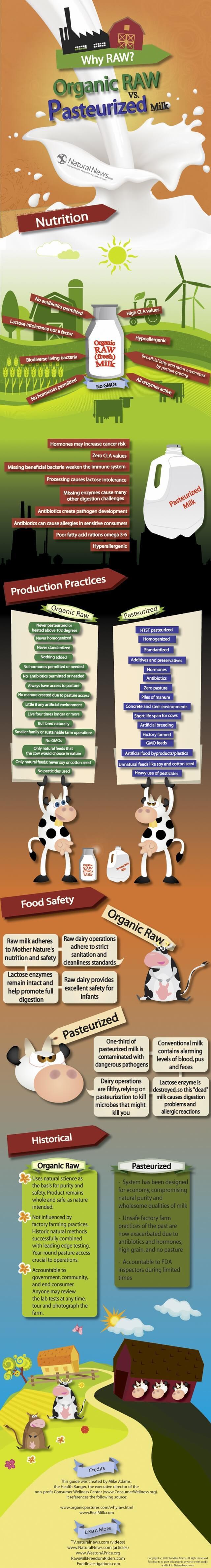 Raw-vs-Pasteurized milk